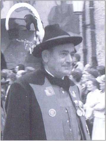 Der Freiheitskämpfer Jörg Pircher, hier als Landeskommandant-Stellvertreter des Südtiroler Schützenbundes.