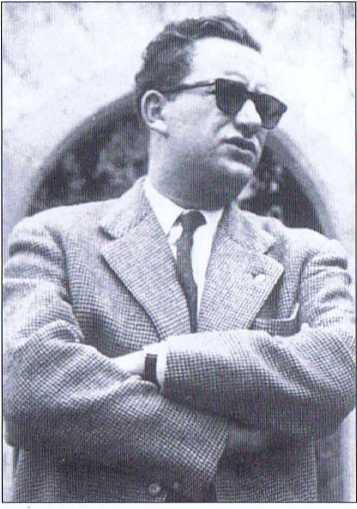 Der Wiener Verleger Fritz P. Molden, Widerstandskämpfer gegen das NS-Regime und Mitbegründer des BAS.