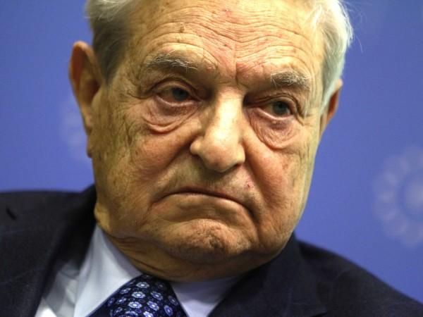 Bei seiner Rede begrüßte George Soros den starken Auftritt der EU gegenüber Ungarn