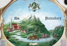 Ein Fresko aus Plintenburg/Visegrád