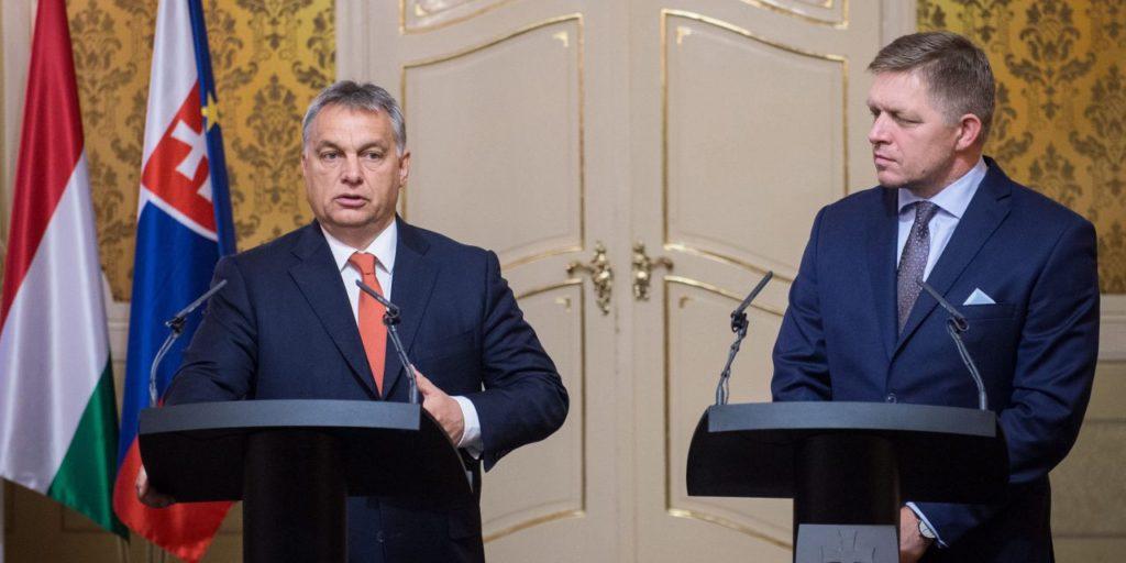 Viktor Orbán und Robert Fico - Foto: Botár Gergely / Büro des Premierministers / MTI
