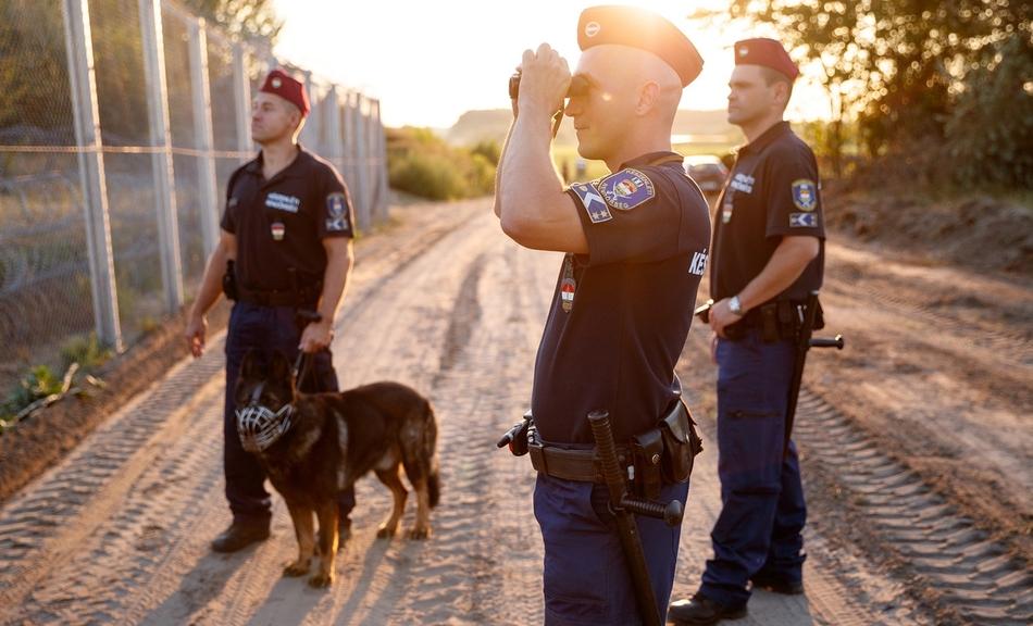 Ist es wirklich wahr? Werden junge ungarische Polizisten ohne Lebensmittelverpflegung an die südliche Grenze abkommandiert?
