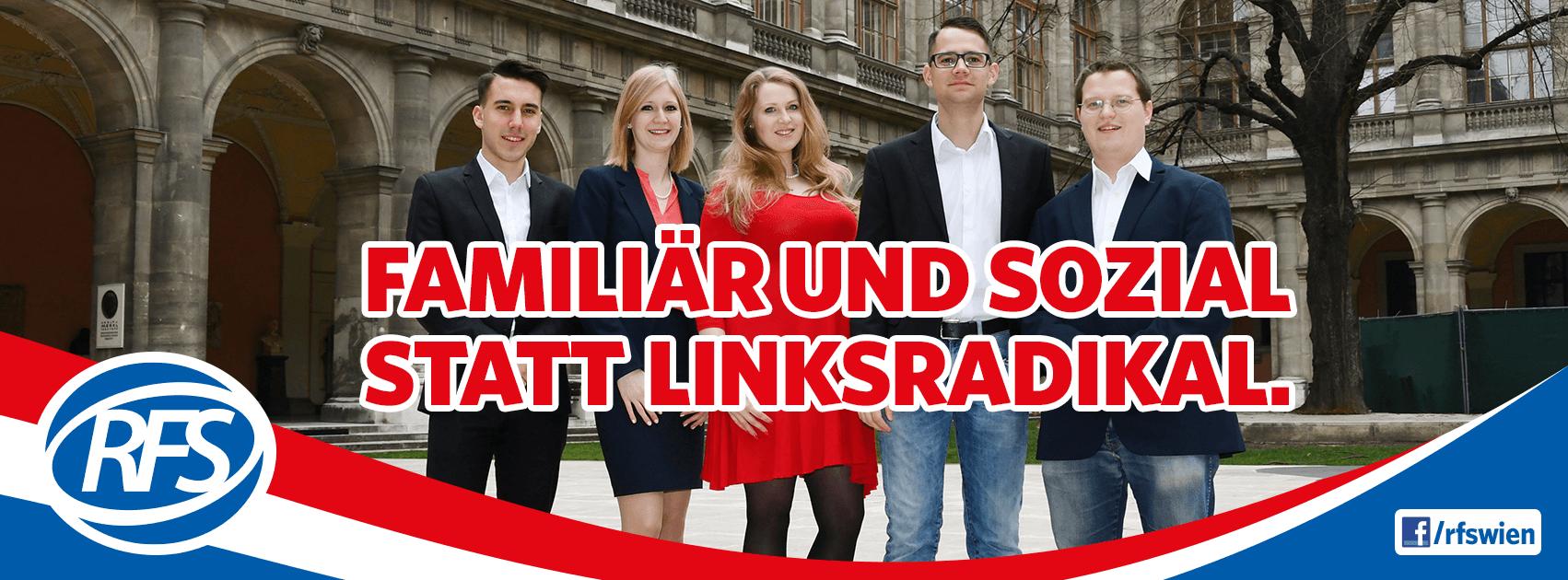 RFS Wien bittet um Hilfe im Kampf gegen Linksextremismus