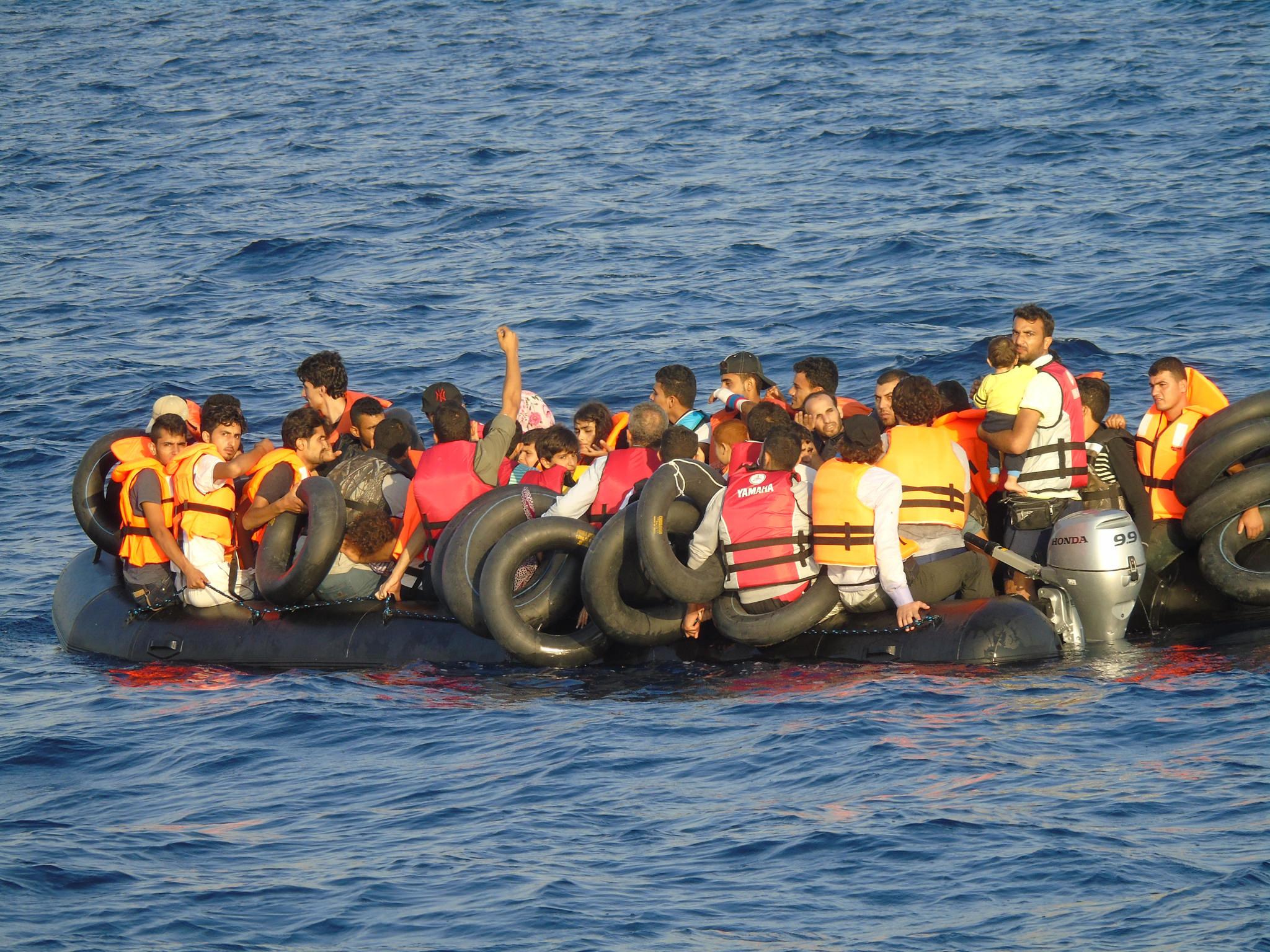 Neue Einwanderungs-Route über das Schwarze Meer
