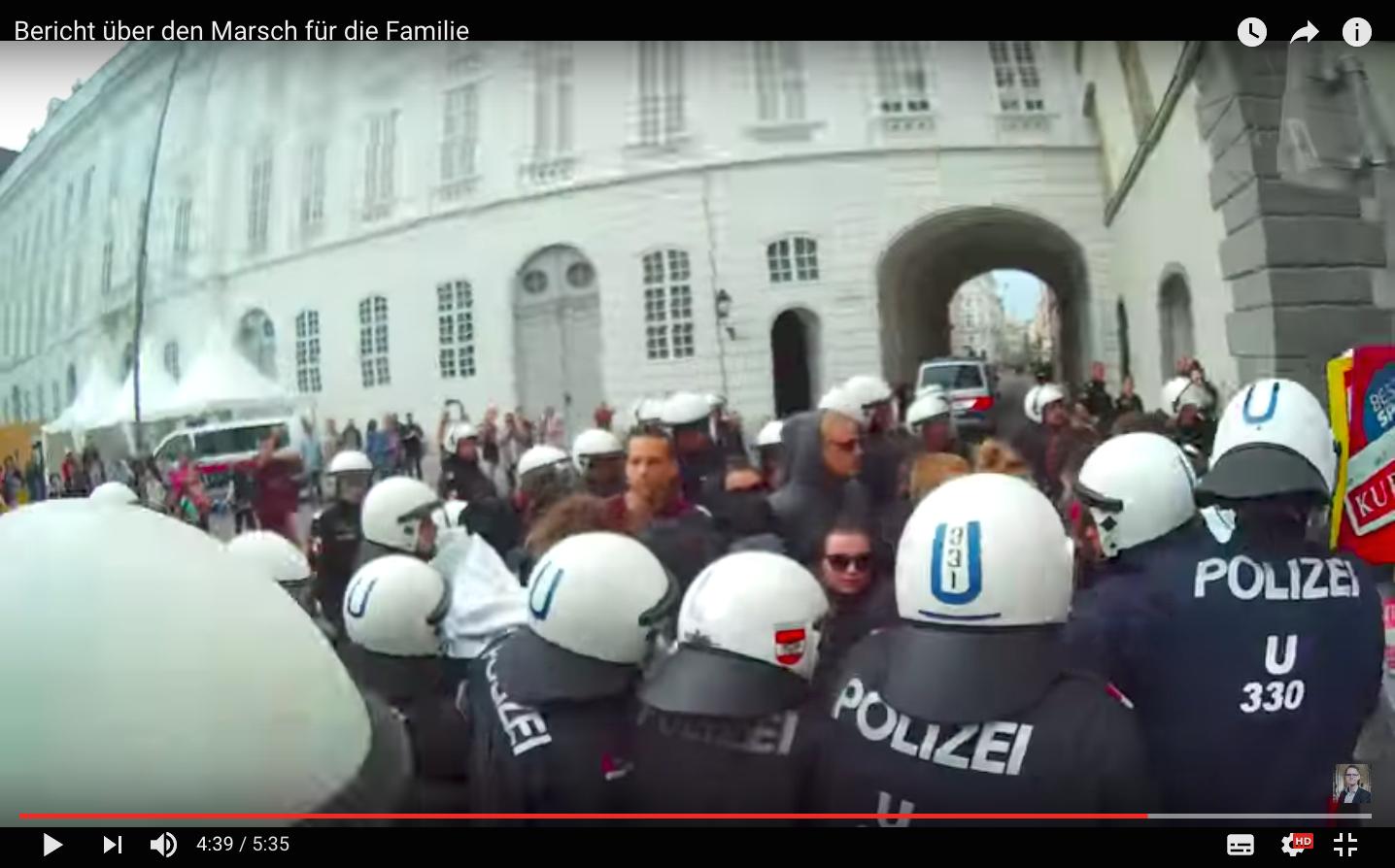 Video: Marsch Für Die Familie