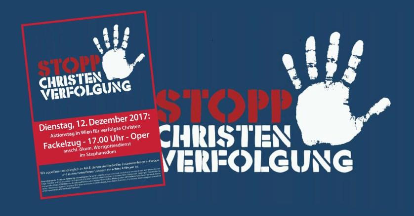 Auch heuer wieder Fackelzug gegen Christenverfolgung in Wien