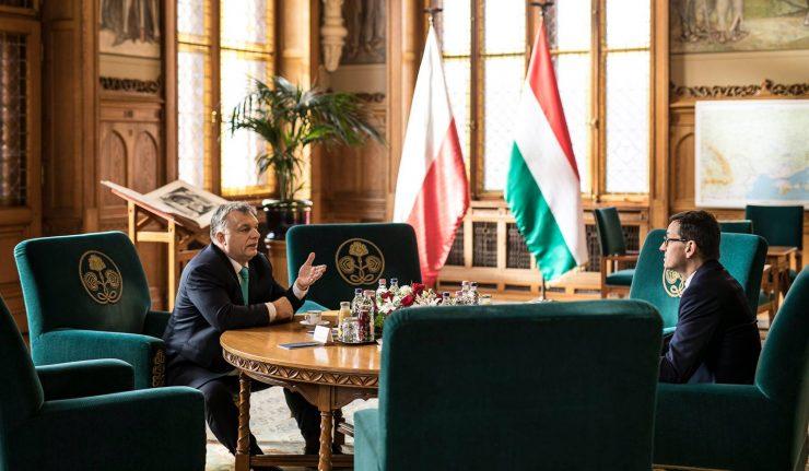 Das Treffen zwischen Orbán und Morawiecki in Budapest