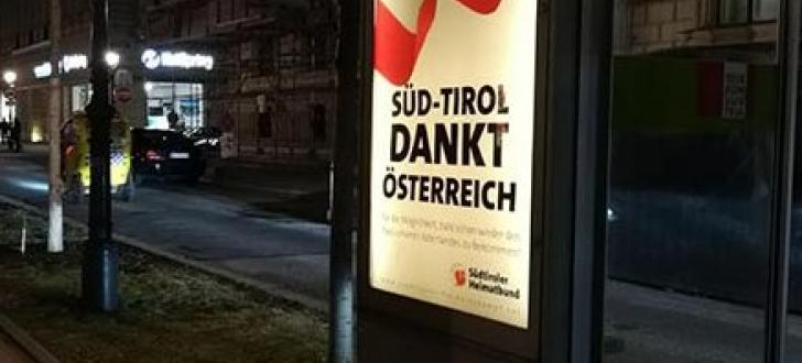Südtirol dankt Österreich!
