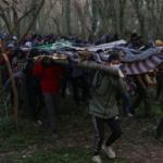 """Migranten stürmen im Schutz der Wälder unter """"Allahu-Akbar""""-Gebrüll auf griechische Grenze"""