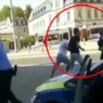 """Bei Corona-Kontrolle: 20-köpfige """"Männergruppe"""" greift Polizisten mit Eisenstangen und Steinen an"""