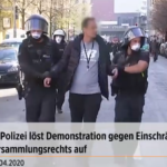 Demo gegen den Notstand: Video-Reportagen aus Berlin