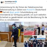 Corona-Wahnsinn: Keine Schutzmasken für Deutsche, dafür Großlieferung an Palästinenser