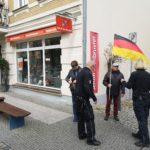 Skandal: Polizei verbietet Deutschland-Fahne bei 1. Mai-Demonstration!