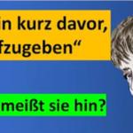Merkel erkennt: Corona-Hysterie kann sie nicht mehr retten
