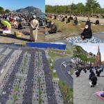 Behörden schauen weg: tausende Moslems belagerten Straßen zum Ramadan-Ende