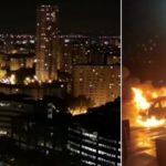 Ramadan-Guerilla-Nacht im afro-islamischen Viertel von Paris