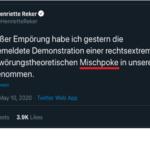 "Alle Dämme brechen: Kölns Oberbürgermeisterin nennt Anti-Corona-Demonstranten ""Mischpoke"""