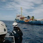 SeaWatch3 wieder vor Libyens Küste aktiv