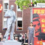 "Gelsenkirchen: ""Festakt"" zur Enthüllung von Lenin-Statue"