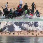 Algerische Boote attackieren Sardinien: illegale Migranten landen zwischen Badegästen an