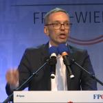Der österreichische Ex-Innenminister Herbert Kickl tritt in Wien bei Kundgebung gegen Regierung auf