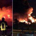 Lampedusa: Boote illegaler Immigranten in Brand gesetzt
