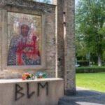 """""""Black Lives Matter""""-Bewegung schändet die Schwarze Madonna von Breda"""