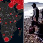 Coronavirus kommt zurück: durch infizierte Afrikaner auf Booten