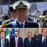 """Konteradmiral De Felice: """"Unsere Regierung macht uns in der Welt lächerlich"""""""