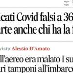 """Il Messagero: """"Falsche Covid-Zertifikate um 36 Euro"""""""