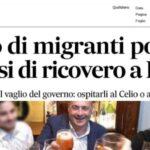 Infizierte illegale Migranten werden nach Rom gebracht, Bürger revoltieren - *Update* Erklärung von Konteradmiral Nicola De Felice
