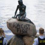 """DK: Kleine Meerjungfrau von """"Anti-Rassisten"""" beschmiert"""