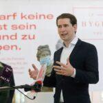 """Panik-Kanzler Sebastian Kurz: Corona kommt nun """"mit dem Auto"""""""