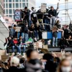 """Im Gegensatz zu jetzt: BML-Demo – Polizeigewerkschaft bedankt sich für """"friedlichen Protest"""""""