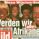 """""""Werden wir alle Afrikaner?"""": Als die Bild-Zeitung noch """"offen rassistisch"""" war"""