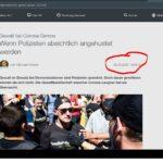 ZDF bringt Lügen-Artikel über Corona-Demo noch BEVOR diese stattgefunden hat!
