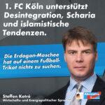 Steffen Kotré (AfD) über 1. FC Köln und DITIB-Moschee