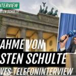 Bestseller-Autor Thorsten Schulte nimmt zu seiner Festnahme Stellung