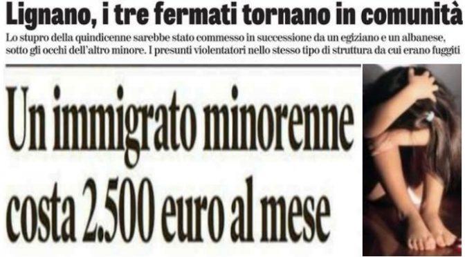 Lignano: drei MUFLs vergewaltigen 15-jähriges italienisches Mädchen