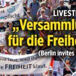 Gigantische Demonstration in Berlin gegen Corona-Diktatur und gegen Bill Gates