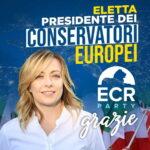 Giorgia Meloni zur Vorsitzenden der EU-Partei ECR gewählt