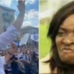 Salvini von Afrikanerin tätlich angegriffen
