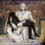 Päpstliche Akademie zeigt Michelangelos Pietà mit schwarzem Jesus