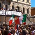 Rom: Demonstration gegen die Corona-Diktatur