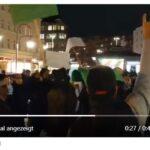Moslems in Berlin feiern Terroranschläge in Frankreich mit Spontandemo