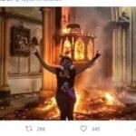 Unfassbare Szenen aus Chile: Linksradikale zünden reihenweise Kirchen an