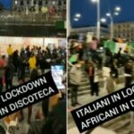 Italienische Lokale müssen schließen, aber die nigerianischen Discos bleiben geöffnet (Video)