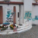 """100 Jahre Kärntner Volksabstimmung: Antifa beschmiert das Denkmal der """"Kärntner Einheit"""""""