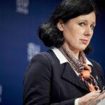 Věra Jourová, Vizepräsidentin der Europäischen Kommission und Soros-Vertraute