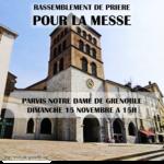 Frankreich: Gläubige fordern Erlaubnis für christliche Messfeiern
